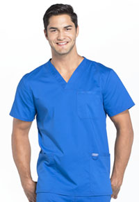 Cherokee Workwear Men's V-Neck Top Royal (WW670-ROY)