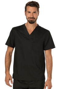 Cherokee Workwear Men's V-Neck Top Black (WW690-BLK)
