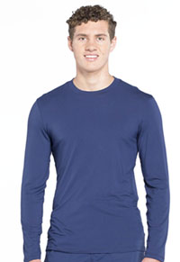 Workwear WW Professionals Men's Underscrub Knit Top (WW700-NAV) (WW700-NAV)