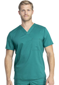 Cherokee Workwear Unisex V-Neck Top Hunter Green (WW742AB-HUN)