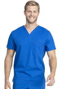 Cherokee Workwear Unisex V-Neck Top Royal (WW742AB-ROY)