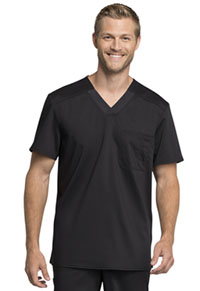 WW Revolution Tech Men's V-Neck Top (WW755AB-BLK) (WW755AB-BLK)