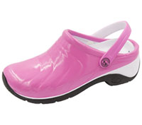 Anywear Anywear Injected Clog w/Backstrap Pink,White,Black (ZONE-PKWB)