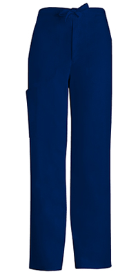 Men's Fly Front Drawstring Pant (1022-NAVV)
