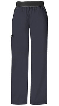 Mid Rise Knit Waist Pull-On Pant (1031-PWTB)