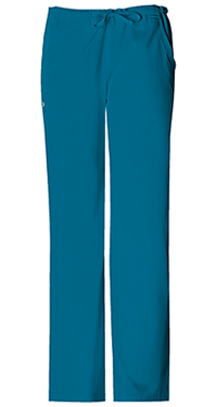 Low Rise Straight Leg Drawstring Pant (1066-CARV)