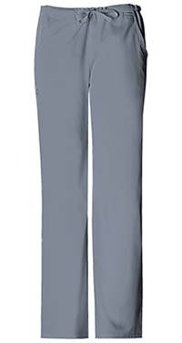 Cherokee Low Rise Straight Leg Drawstring Pant Grey (1066-GRYV)