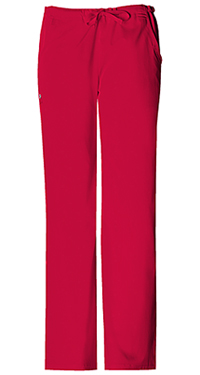 Low Rise Straight Leg Drawstring Pant (1066-REDV)