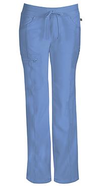 Cherokee Low Rise Straight Leg Drawstring Pant Ciel (1123A-CIPS)