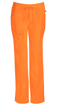 Cherokee Low Rise Straight Leg Drawstring Pant Orangeade (1123A-OAPS)