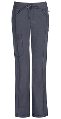 Cherokee Low Rise Straight Leg Drawstring Pant Pewter (1123A-PWPS)