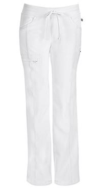 Cherokee Low Rise Straight Leg Drawstring Pant White (1123A-WTPS)