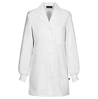 32 Lab Coat White (1362AB-WHTD)