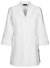 30 3/4 Sleeve Lab Coat (1470AB-WHTD)