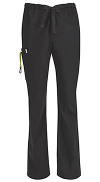 Code Happy Men's Drawstring Cargo Pant Black (16001AB-BXCH)