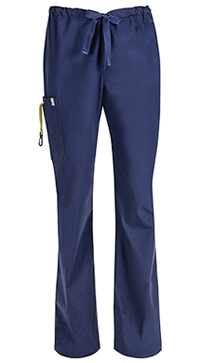 Code Happy Men's Drawstring Cargo Pant Navy (16001AB-NVCH)