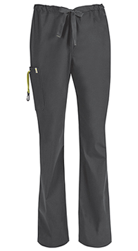 Code Happy Men's Drawstring Cargo Pant Pewter (16001A-PWCH)