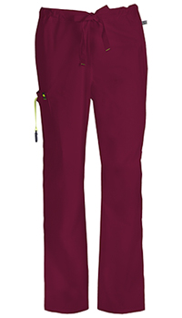 Code Happy Men's Drawstring Cargo Pant Wine (16001A-WICH)