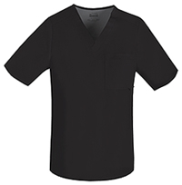 Cherokee Men's V-Neck Top Black (1929-BLKV)
