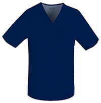 Luxe Men's V-Neck Top (1929-NAVV) (1929-NAVV)