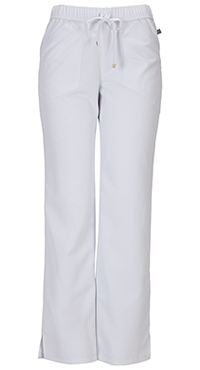 HeartSoul Drawn To You Low Rise Drawstring Pant White (20102A-WHIH)