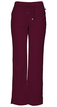 HeartSoul Low Rise Drawstring Pant Wine (20102A-WIN)