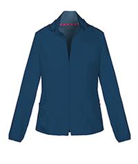 HeartSoul Break on Through Zip Front Warm-Up Jacket in Navy (20310-NAYH)