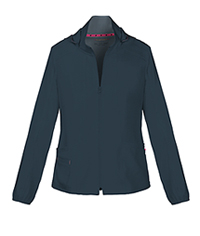 HeartSoul Break on Through Zip Front Warm-Up Jacket in Pewter (20310-PEWH)