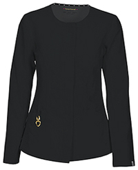HeartSoul Warm My Heart Button Front Jacket Black (20601A-BCKH)