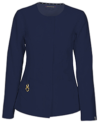 HeartSoul Warm My Heart Button Front Jacket Navy (20601A-NAYH)