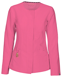 HeartSoul Warm My Heart Button Front Jacket Pink Party (20601A-PNKH)