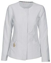 HeartSoul Warm My Heart Button Front Jacket White (20601A-WHIH)