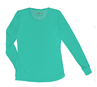 HeartSoul Social Butter-Fly Underscrub Knit Tee Frosted Mint (20800-FSTH)