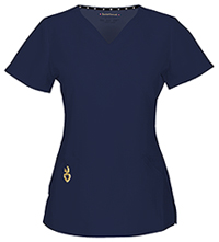 HeartSoul Wrapped Up V-Neck Top Navy (20971A-NAYH)