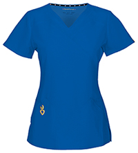 HeartSoul Wrapped Up V-Neck Top Royal (20971A-ROYH)