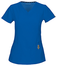 HeartSoul Beloved V-Neck Top Royal (20972A-ROYH)