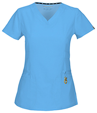 HeartSoul Beloved V-Neck Top Turquoise (20972A-TRQ)