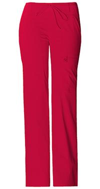 Low Rise Flare Leg Drawstring Cargo Pant (21100P-REDV)