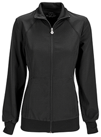 Zip Front Warm-Up Jacket Black (2391A-BAPS)