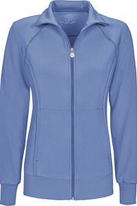 Cherokee Zip Front Warm-Up Jacket Ciel (2391A-CIPS)