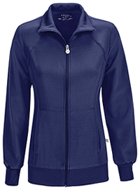 Zip Front Warm-Up Jacket Navy (2391A-NYPS)