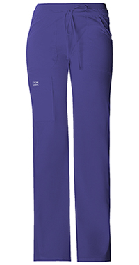 Cherokee Workwear Drawstring Cargo Pant Grape (24001-GRPW)