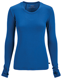 Cherokee Long Sleeve Underscrub Knit Tee Royal (2626A-RYPS)
