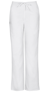 Unisex Natural Rise Drawstring Pant (34100AT-WHTW)