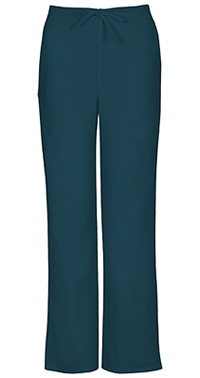 Cherokee Workwear Unisex Natural Rise Drawstring Pant Caribbean Blue (34100A-CARW)