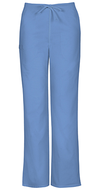 Cherokee Workwear Unisex Natural Rise Drawstring Pant Ciel (34100A-CIEW)