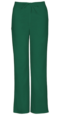 Cherokee Workwear Unisex Natural-rise Drawstring Pant Hunter (34100A-HUNW)