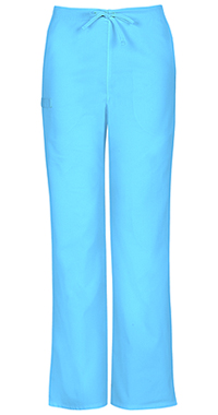 Cherokee Workwear Unisex Natural Rise Drawstring Pant Turquoise (34100A-TRQW)