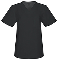 Workwear WW Flex Unisex V-Neck Top (34777A-BLKW) (34777A-BLKW)