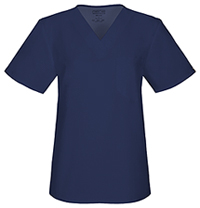 Cherokee Workwear Unisex V-Neck Top Navy (34777A-NAVW)